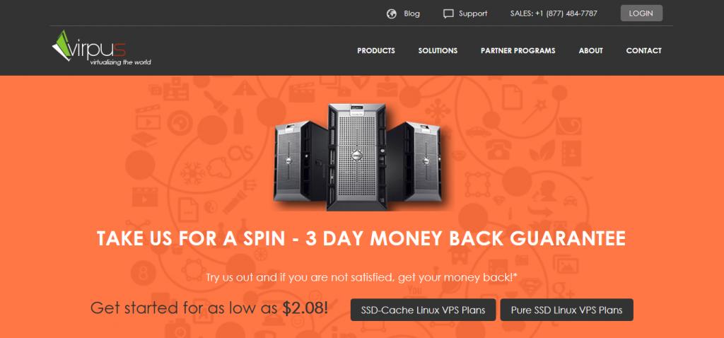 Virpus-免费DirectAdmin/Xen/512m内存/15gSSD/1.5T流量/年付12.75美元